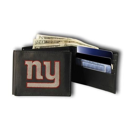 New York Giants NFL Embroidered Billfold Wallet