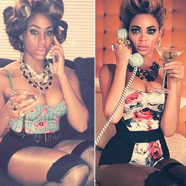 Beyoncé costume  sc 1 st  Pinterest & Beyoncé costume   Halloween Costumes For Brown People   Pinterest ...