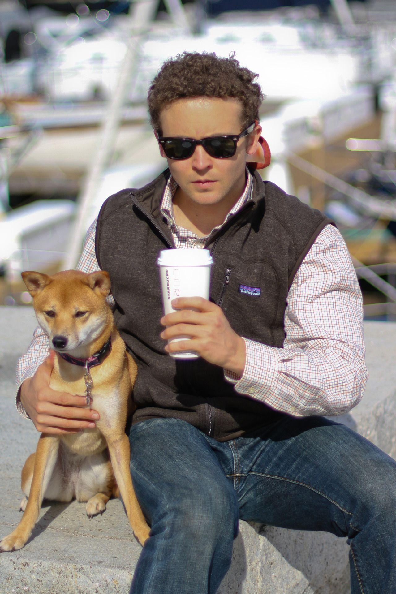 Yachtys Shane And Snips Wearing Patagonia Vest Vineyard