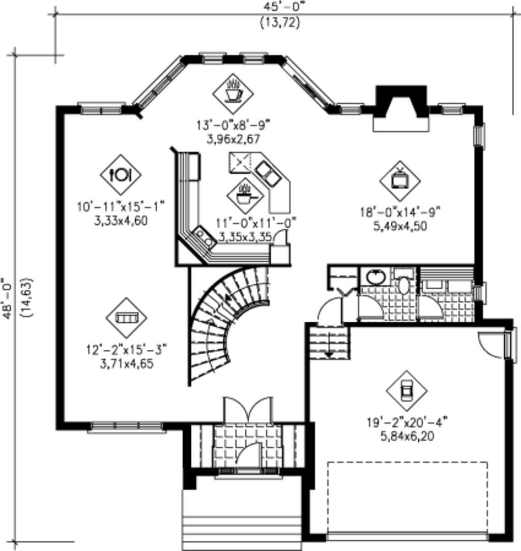 House Floor Layout Diagram