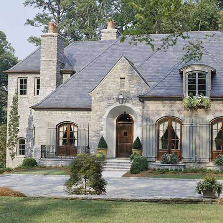Beautiful European Stone Home French Country Exterior Cottage Exterior French Style Homes
