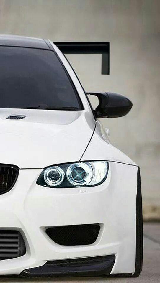Bmw E92 M3 Gtr White Bmw Bmw Cars Cars