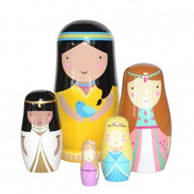 Poupées russes Princesses - Sketch.inc. - fée pas ci, fée pas ça