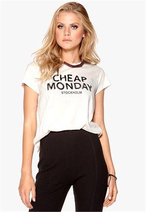 CHEAP MONDAY Have Tee CM Double Logo - Bubbleroom