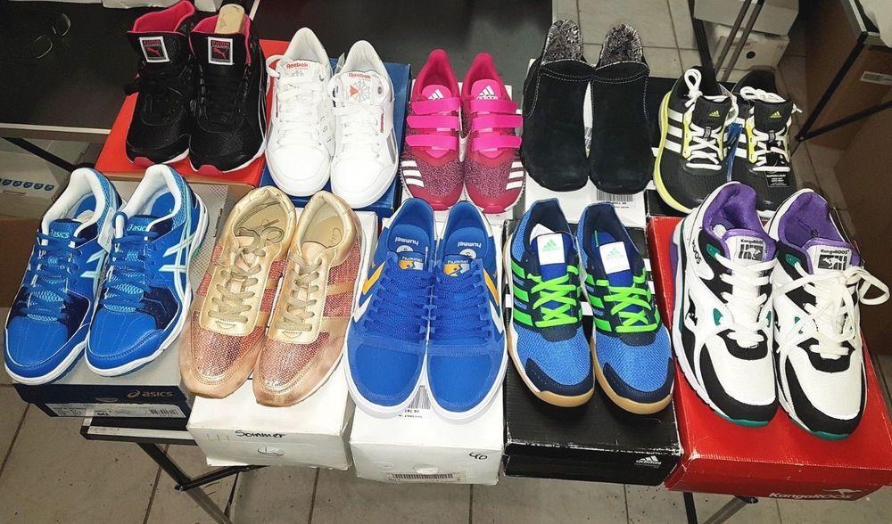 10 Paar Schuhe Top Marken Restpostenpaket Sportschuhe