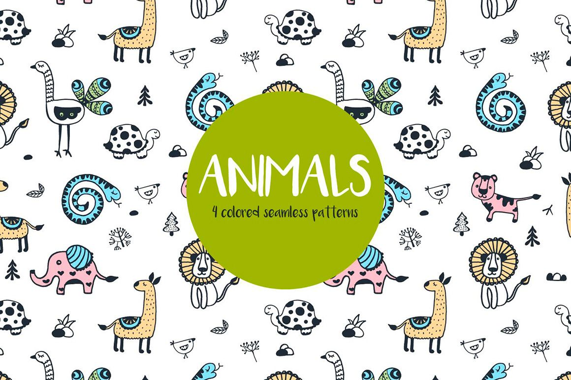 Free Animals Vector Pattern Pixelify Best Free Fonts