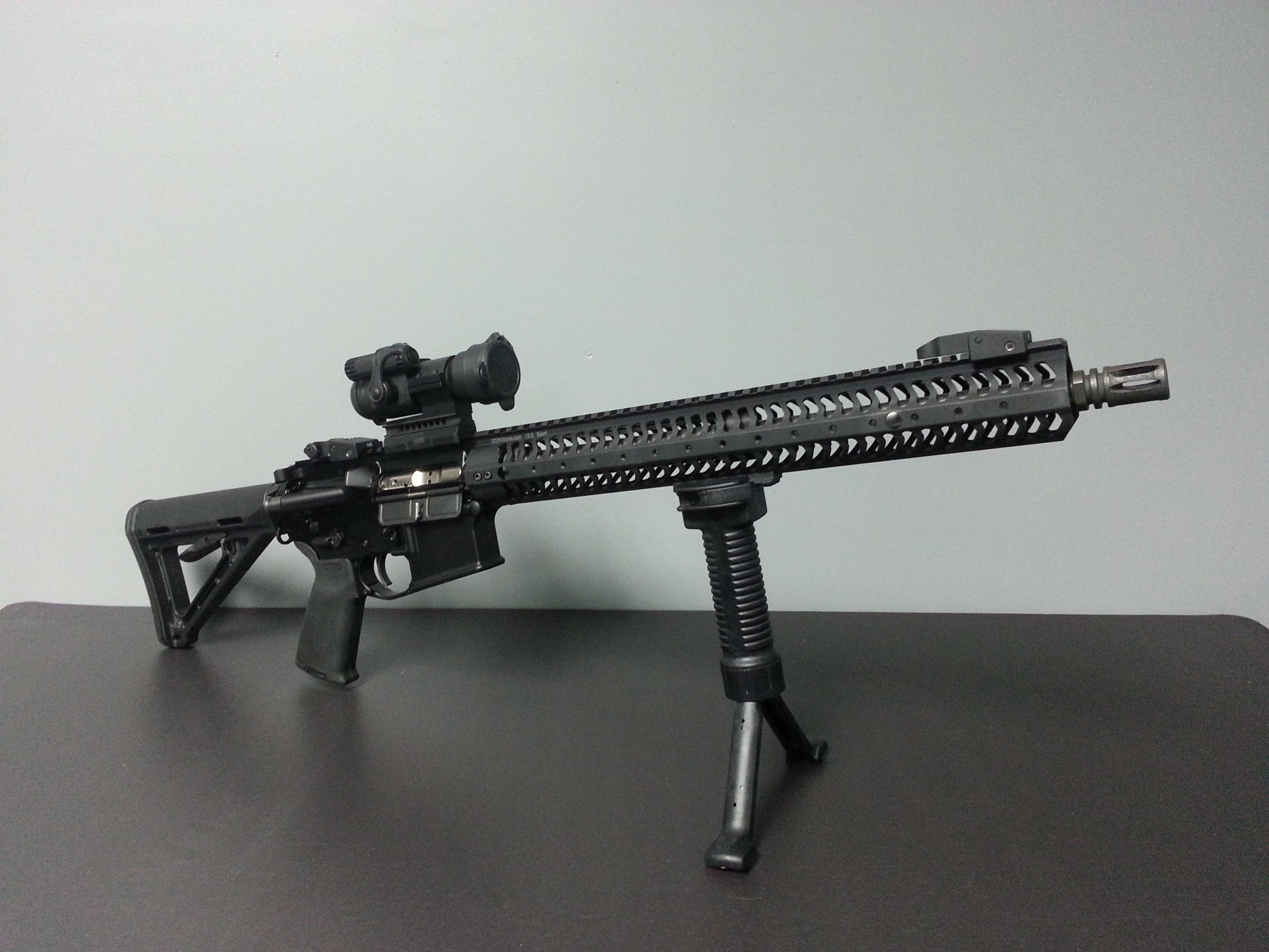 A Look At The Law Enforcement Version Of The Grip Pod Forward Grip And Bipod