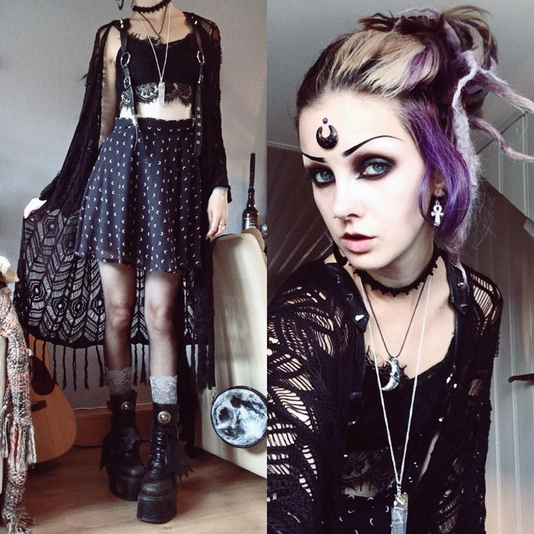 20c74b7d0efd 20+ Girls Goth Outfits Pictures and Ideas on Meta Networks