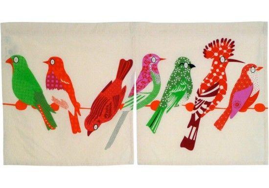 Noren Oiseaux 29,00 € http://www.laboutiquedelouise.com