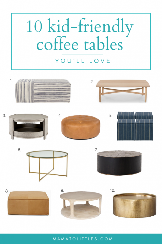 Kid Friendly Coffee Tables In 2020 Coffee Table Kid Friendly