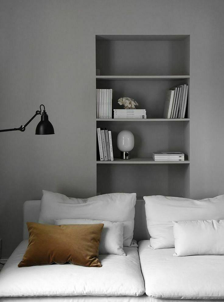 Pin von urnot1ting auf 客厅   Wohnen, Graue wände wohnzimmer ...