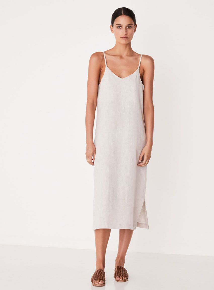 020389da26 Buy Linen Slip Dress - Assembly Label in 2018