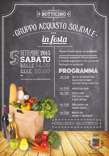 Gruppo Acquisto Solidale in Festa a Botticino http://www.panesalamina.com/2015/39969-gruppo-acquisto-solidale-in-festa-a-botticino.html