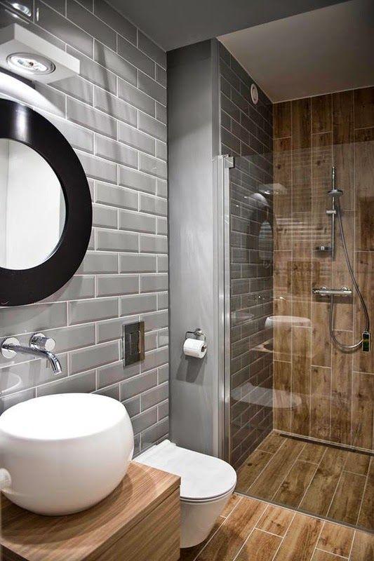 Épinglé par Xiomara Elena sur ideas de xio Pinterest Salle de - carrelage salle de bain petit carreaux