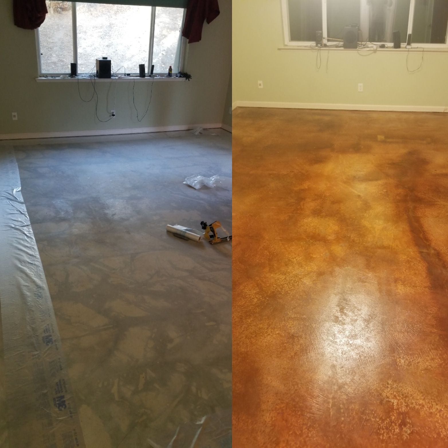 Dci Concrete Dye To The Rescue Concrete Stained Floors