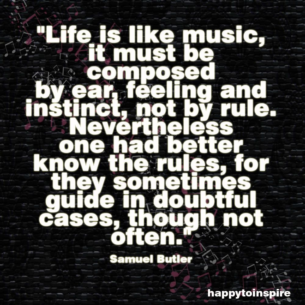 Happy To Inspire Quote Of The Day Life Is Like A Music Singing Quotes Music Quotes Life Is Like Quotes