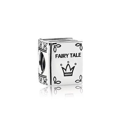Fairytale Book Silver Charm - PANDORA