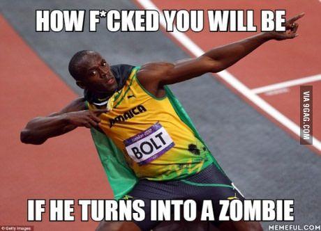 """The """"Lightning"""" Dead   Usain bolt, Nbc olympics, Olympic ..."""