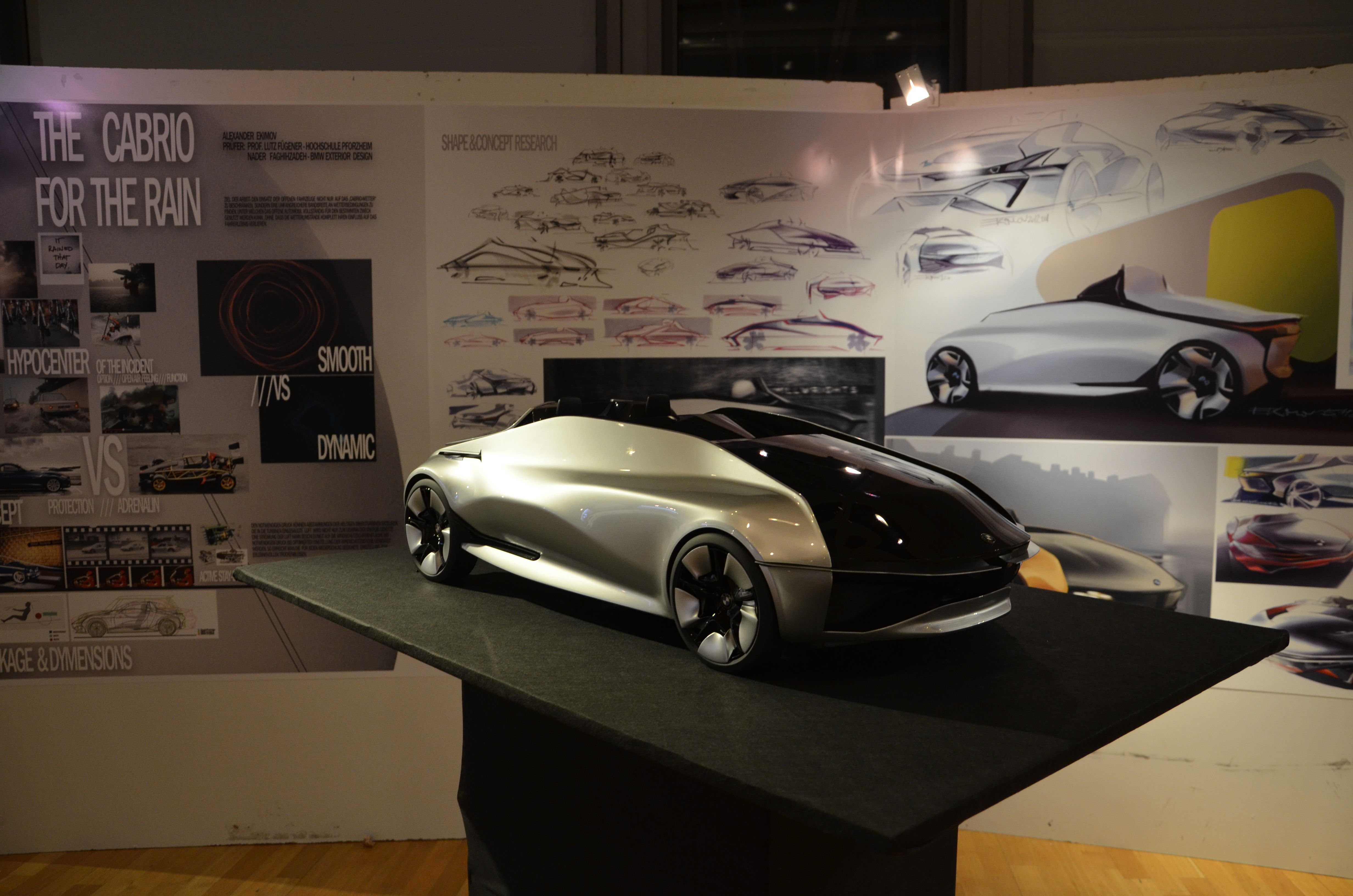 Pforzheim Automotive Design Car Model Transportation Design