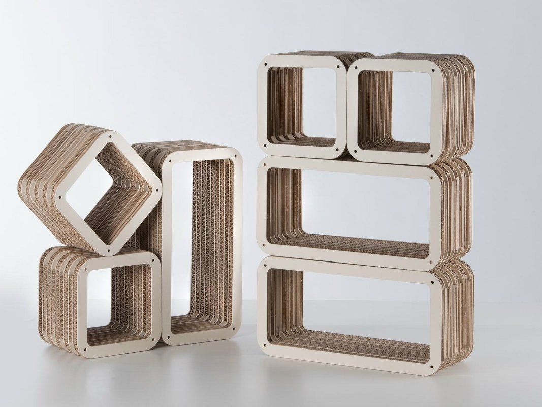 Giorgio Caporaso, Modular Furniture, Cardboard Furniture, Eco Friendly  Interiors, Recyclable Chairs,