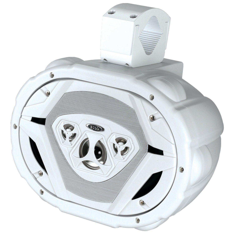 Boss Audio Mrwt69w Marine 6 X 9 4 Way 550 Watt Waketower Common Jl Amp Wiring Kit Marinerated