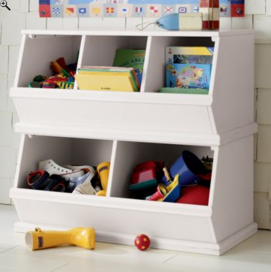 Copy Cat Chic Chic For Cheap Land Of Nod Toy Bins Bookself