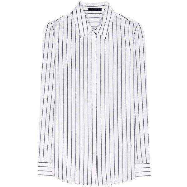 adaf4c2dcd4fc The Row Peter Striped Silk Shirt (2