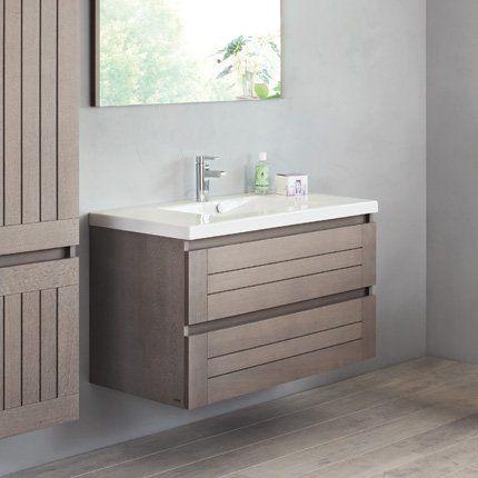 meuble salle de bain sanijura lignum