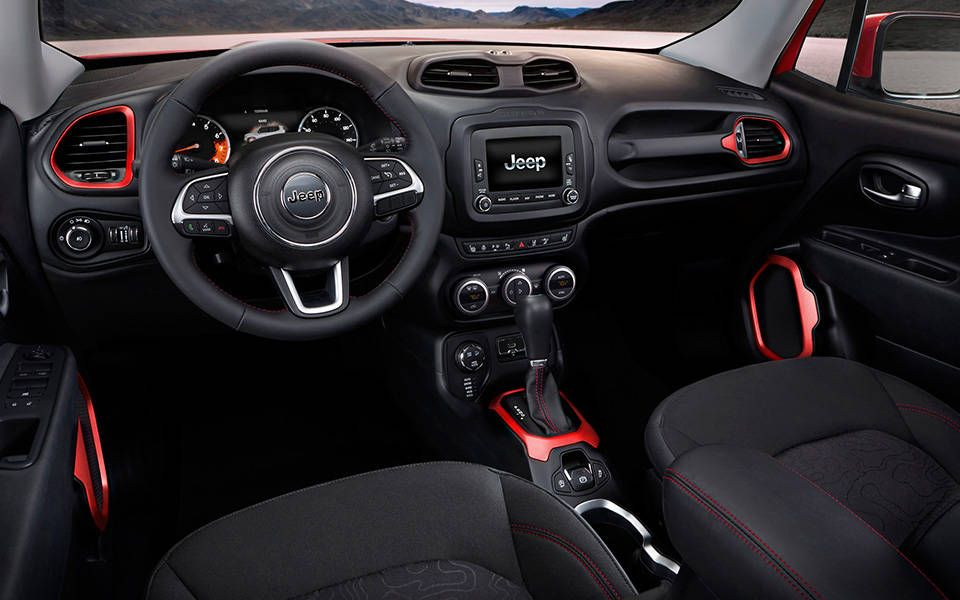 2015 Jeep Renegade Interior Modern Everything About This Is Hip
