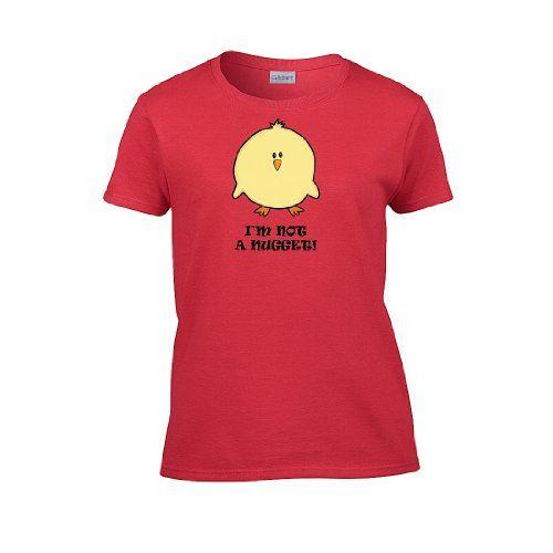 IamTee Womens Vegan I'm Not a Nugget T-Shirt-Red-XXL IamTee http://www.amazon.com/dp/B00ECEIXBS/ref=cm_sw_r_pi_dp_SUNpwb0XVY0BJ