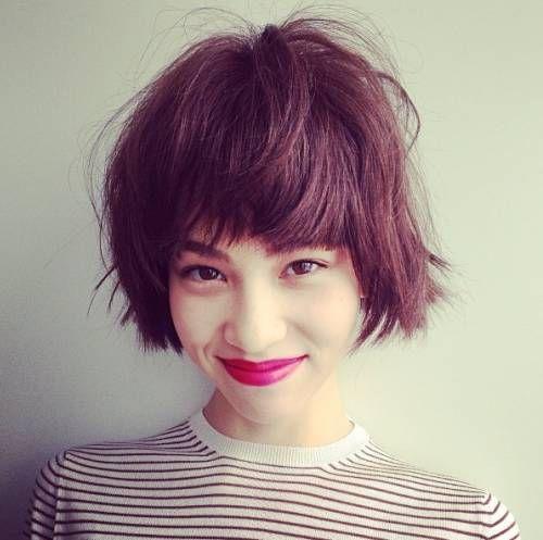 2628 Kiko Mizuhara W Short Hair Jpg 500 497 Pixels Short Hair Styles Hair Inspiration Short Hair Haircuts