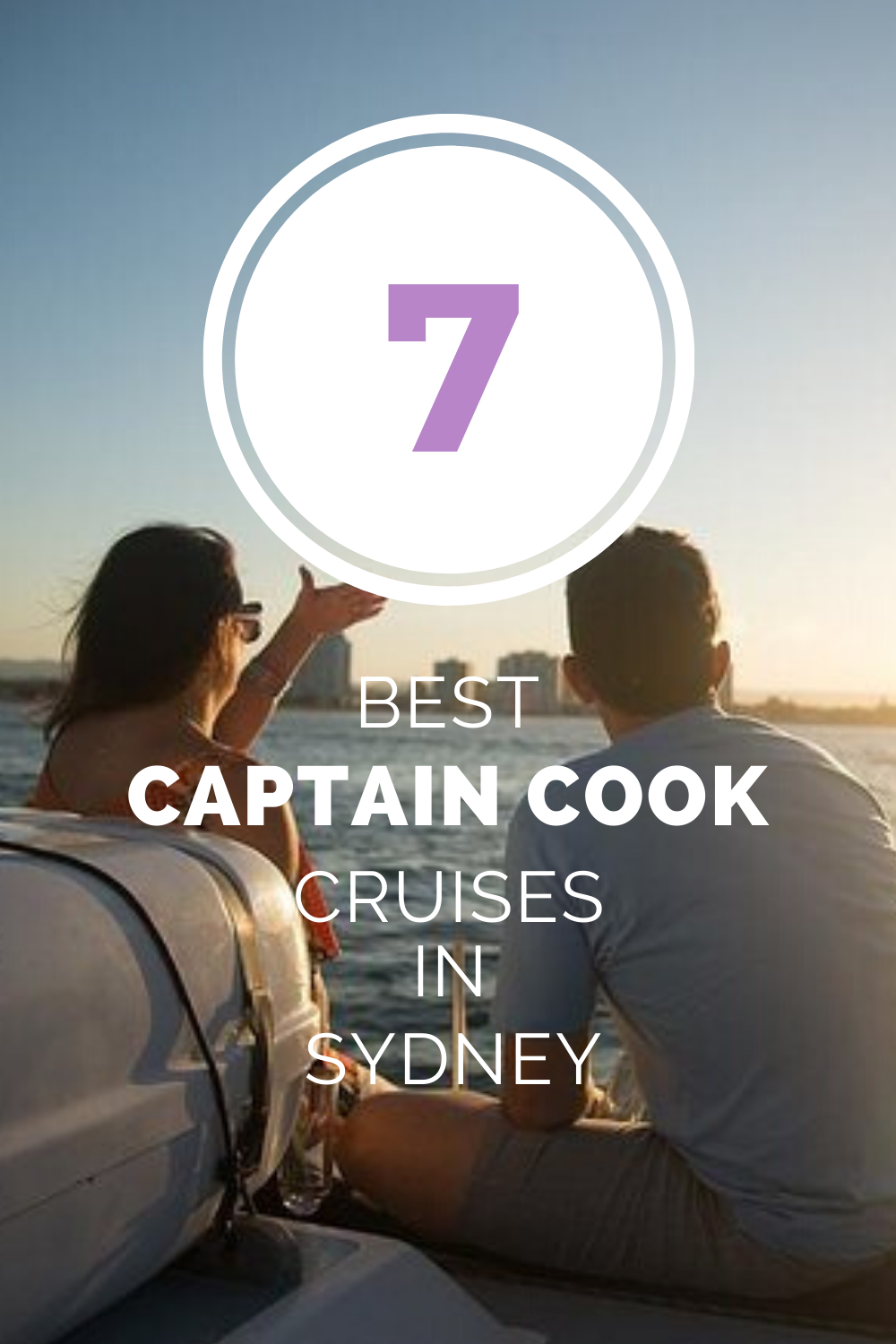 Captain Cook Sydney harbour sightseeing and dinner cruises