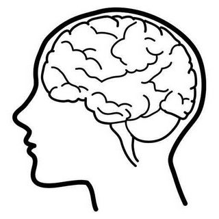Brain psychology. Clipart stuff whole child