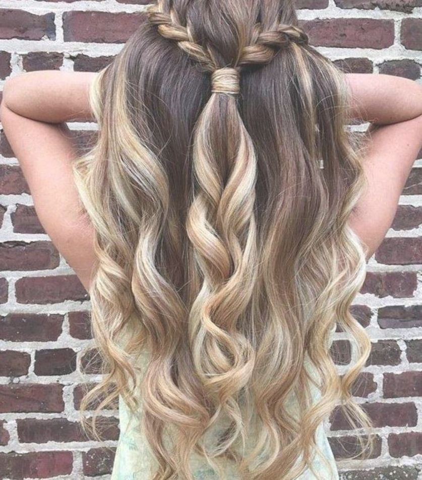 19 Super Easy Hairstyles for 2018 - | Half up half down ...