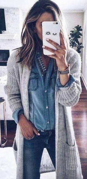 Comfy in Fascination Cardigan in 2018 Things to wear Moda, Ropa