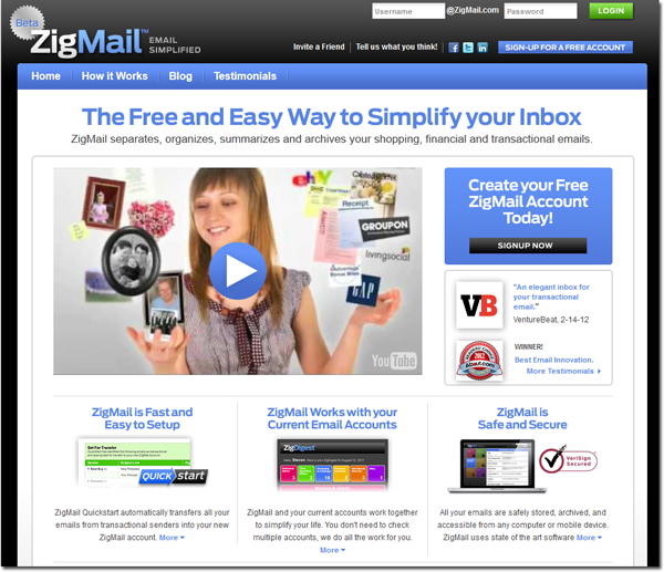 Great blog post on how educators can use ZigMail to organize their #email inbox