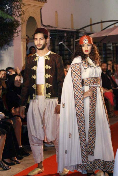 Traditional Dresses in Algeria
