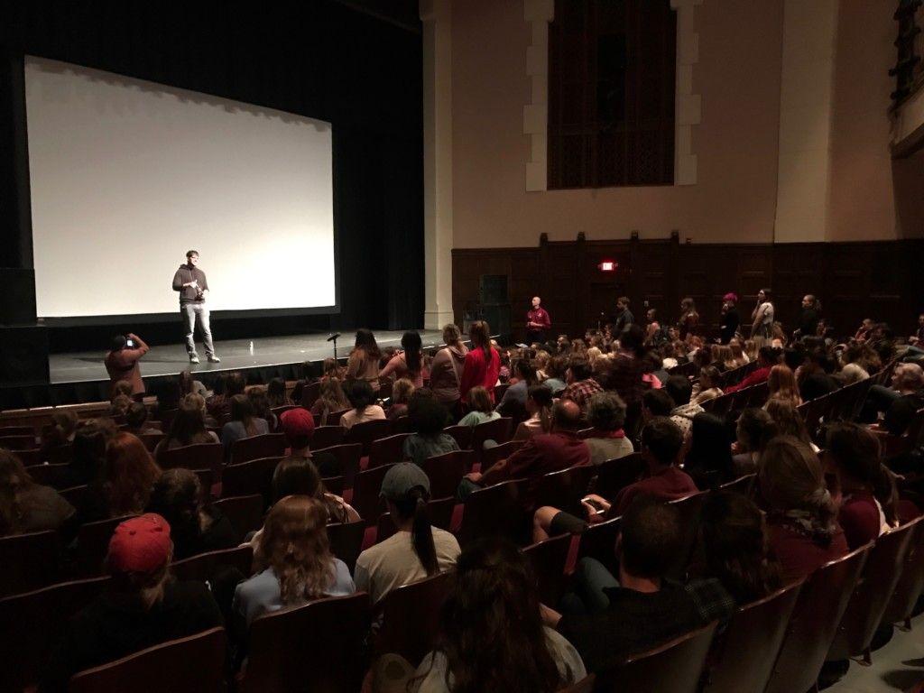 Experiencing Northern Michigan CMU Hosts Humans Of New York Creator Brandon Stanton