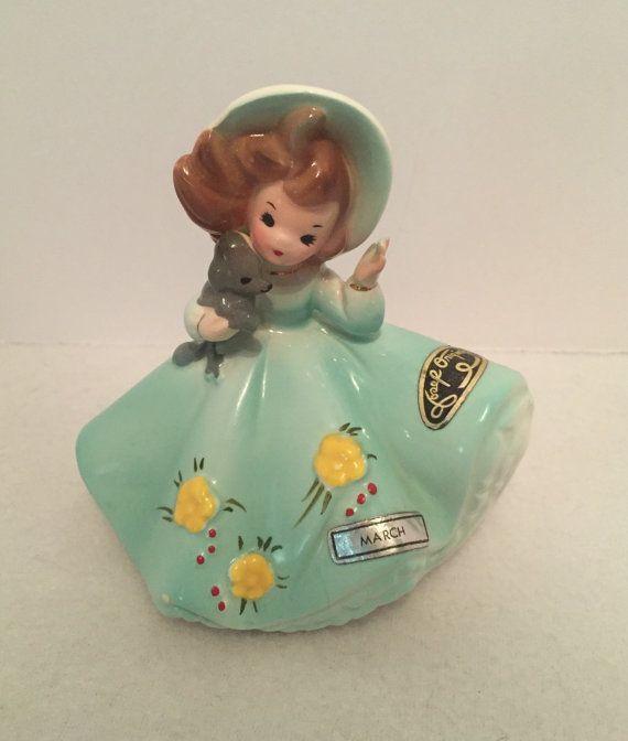 Vintage Josef Original Birthday Girl Figurine
