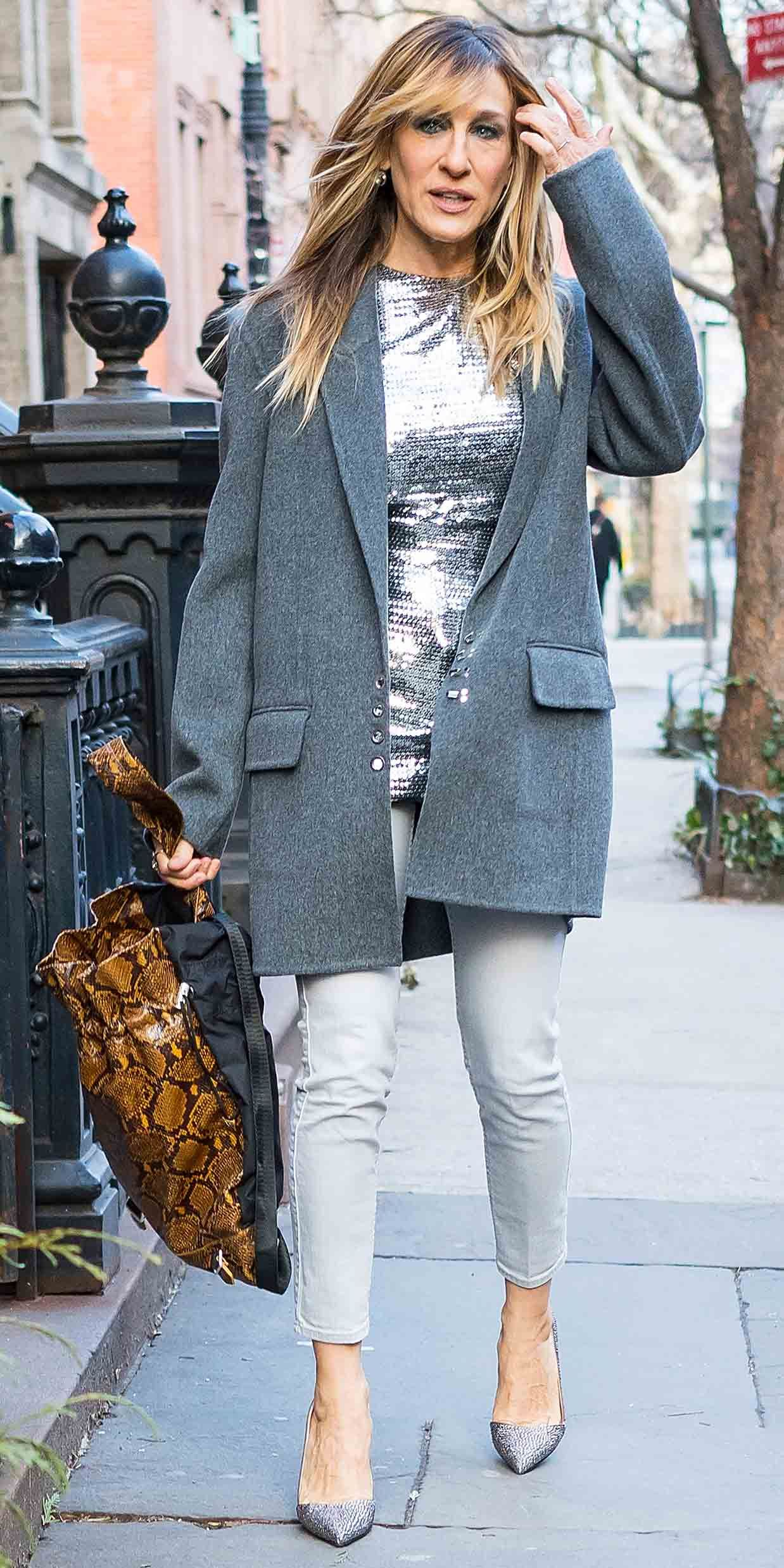 Pin by Illy T on SJP | Sarah jessica parker street style