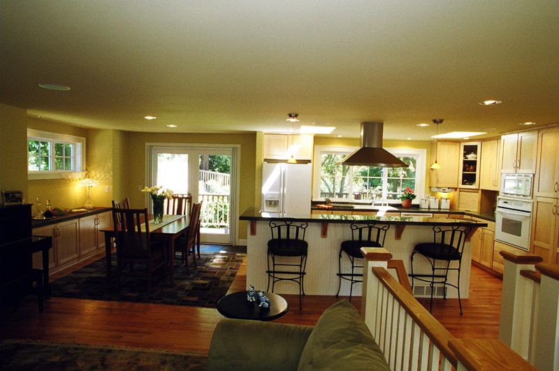 The Best pic of what I'd like to accomplish with taking out wall and extending dining area.