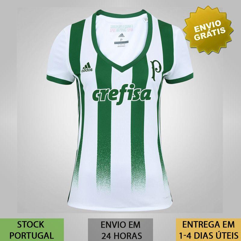 d2a9da48e43ff3 Camisa Palmeiras Feminina verde e branca camisola de 2019 | Loja ...