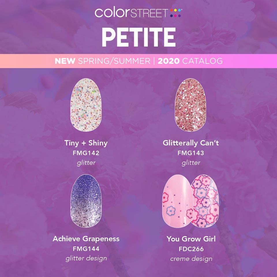 Color Street Christmas Nails 2020 Petite Line from Color Street in 2020 | Color street, Color street