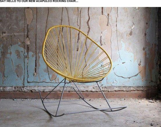 Sedie A Dondolo Depoca : Acapulco rocking chair rocking chair home dondolando