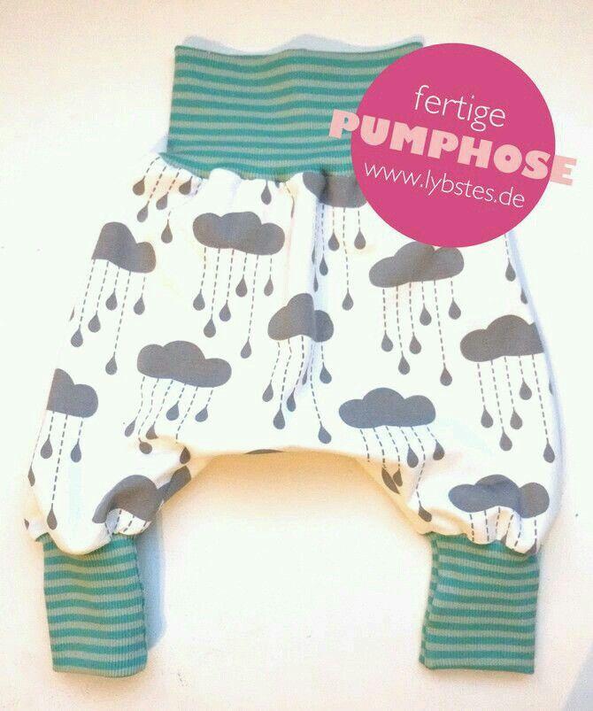Süße PUMPHOSE !! | Детская одежда | Pinterest | Pumphose, Süß und Nähen