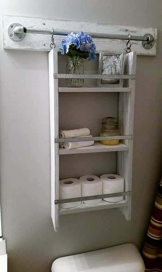 Here Is A Great Idea For The Storage In The Bathroom You Can