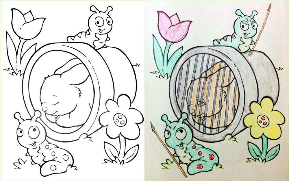 Corrupted Coloring Books Got Dark In A Hurry Photos