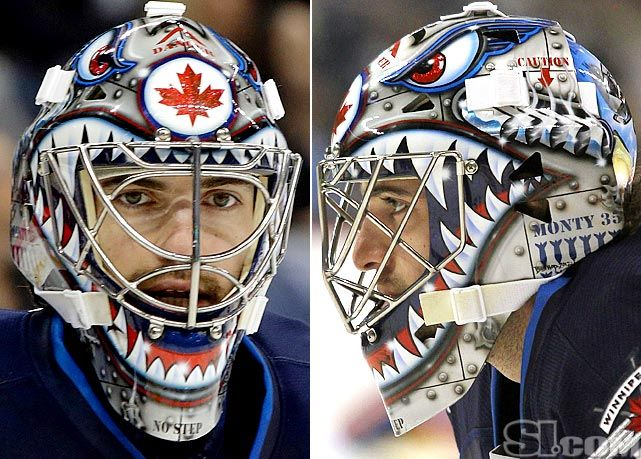 Nhl Goalie Masks By Team Goalie Mask Goalie Hockey Goalie