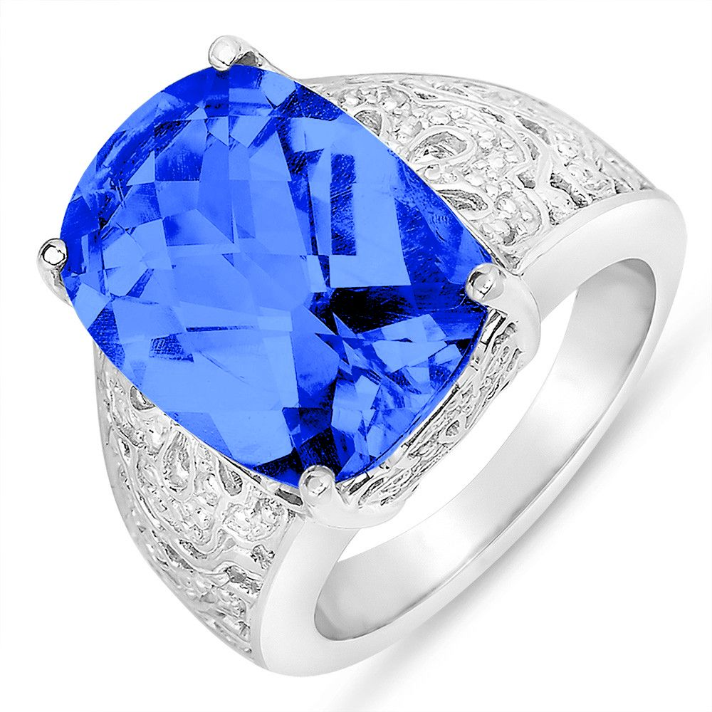 NissoniJewelry.com presents - Created Sapphire Fashion Ring in Sterling Silver 925    Model Number:FR7999-SICSA    Price:$99.99      https://nissonijewelry.com/jewelry/created-sapphire-fashion-ring-in-sterling-silver-925/fr7999-sicsa.html