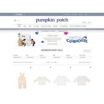 SAVE Up to 50% Off Sale on Selected Baby Clothes @ Pumpkin Patch - Bargain Bro